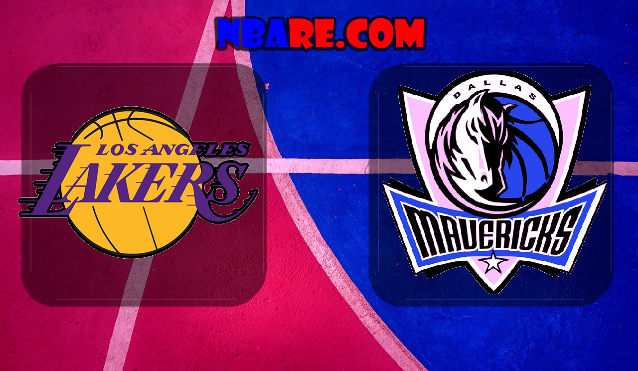 Los Angeles Lakers vs Dallas Mavericks NBA Full Games ...